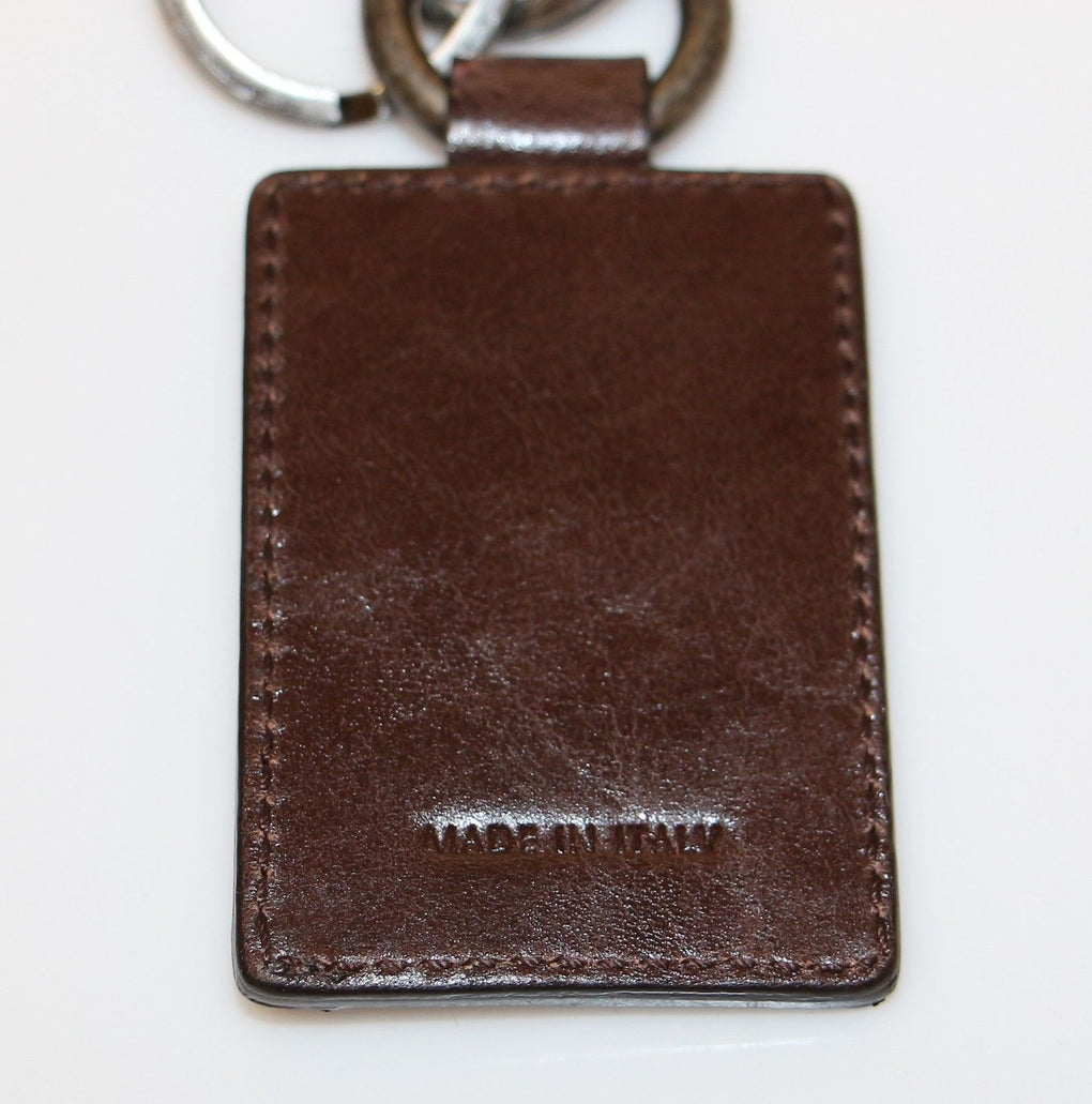 Leather Metal Unisex Ring Keychain - EnModaLife.Com