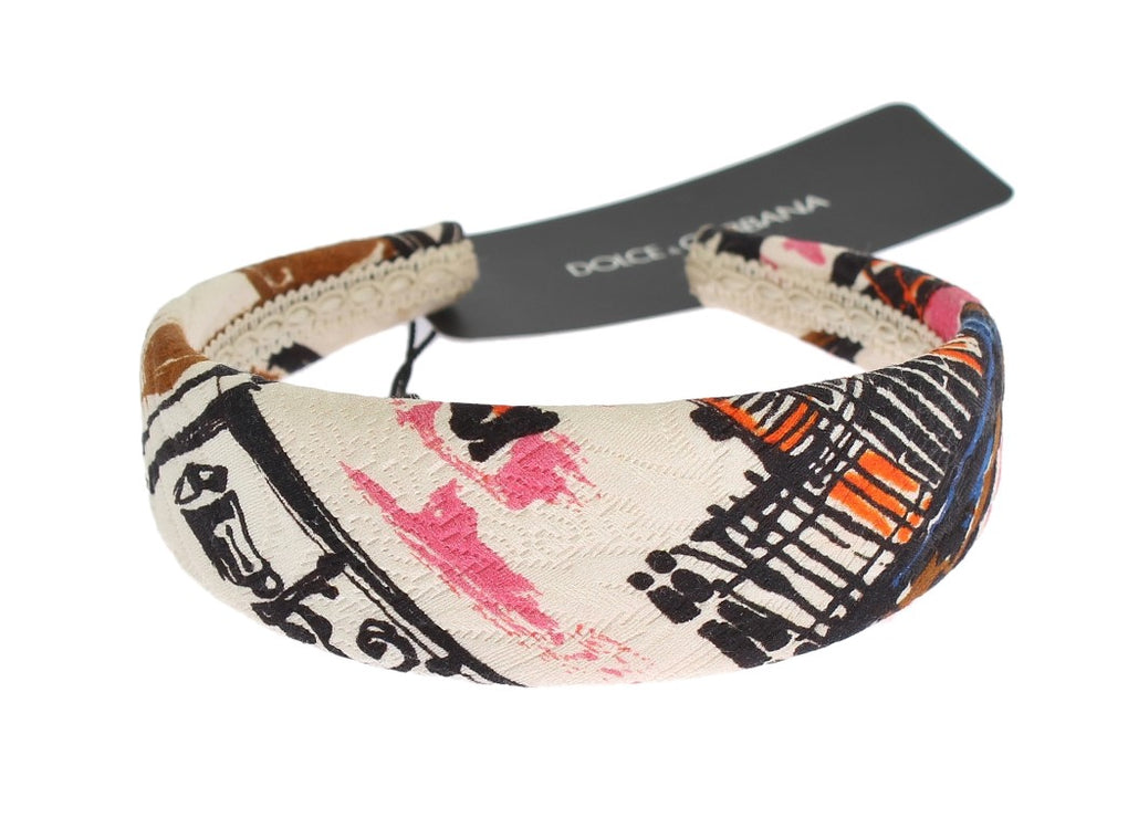 Multicolor Cotton Silk Headband - EnModaLife.Com
