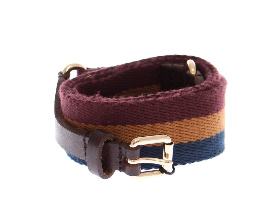 Multicolor Leather Logo Belt - EnModaLife.Com