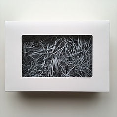 White Hamper Box With Grey Shred (Holds 6)