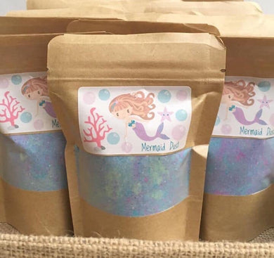 Mermaid Bath Dust