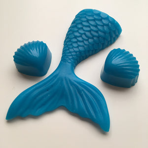 Mermaid Tail & Shell Soaps