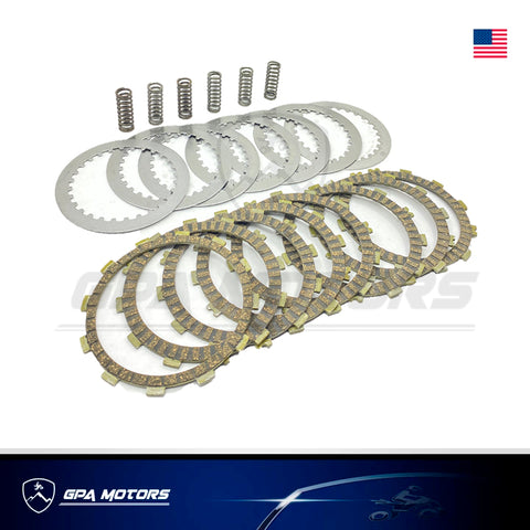 Clutch Plates Springs Heavy Duty Kit Fits Honda TRX450R, TRX450ER 04-14
