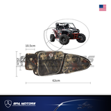 Left and Right Side Door Bag with Knee Pad fit Polaris RZR 900 XP 1000 2014-2019