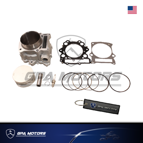 Cylinder Piston Gasket Kit Fit Yamaha Grizzly 660 2002-2008 102mm 686cc