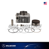 Cylinder Piston Gasket Top End Kit Fits Honda XR400R 1996-2004