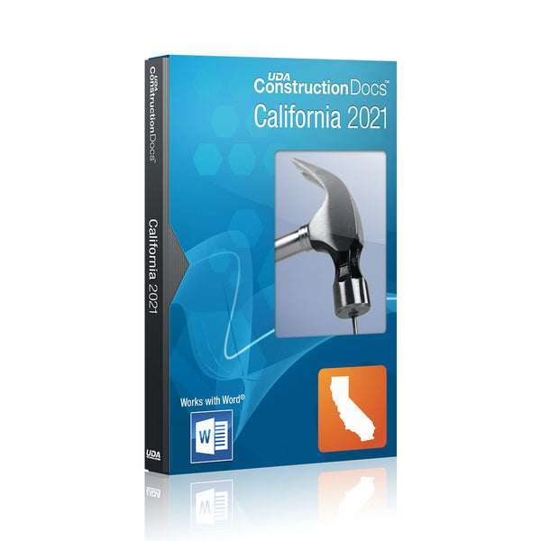 UDA ConstructionDocs™ California 2021