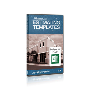 UDA ConstructionDocs™ LC Estimating Templates