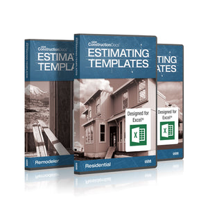 UDA ConstructionDocs™ Pro Excel Estimating Bundle