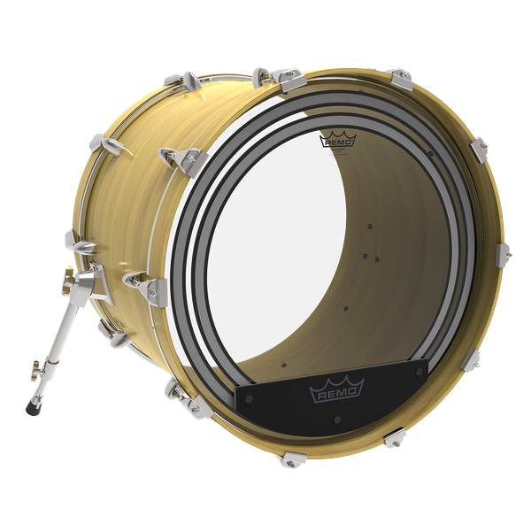 "Parche Remo 22"" Powersonic Clear PW-1322-00"