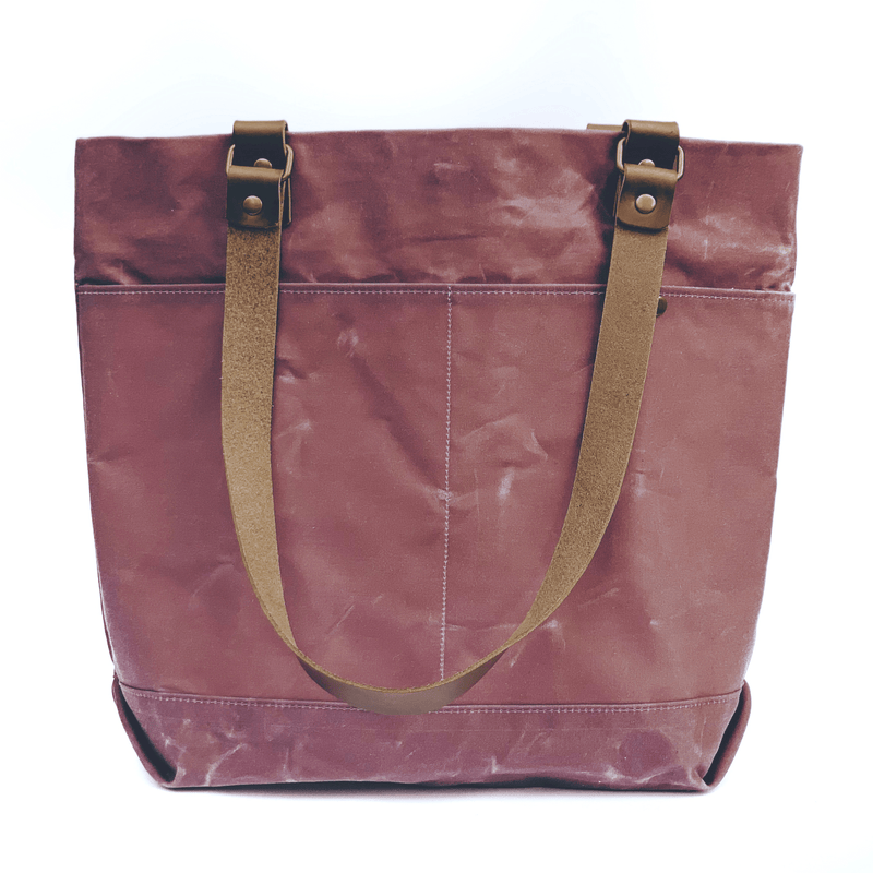 Inner Beauty Effects Tote Elisa Tote waxed canvas