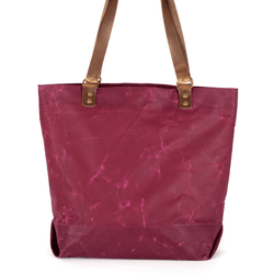 Inner Beauty Effects x Gayle Kabaker Lee Tote waxed canvas