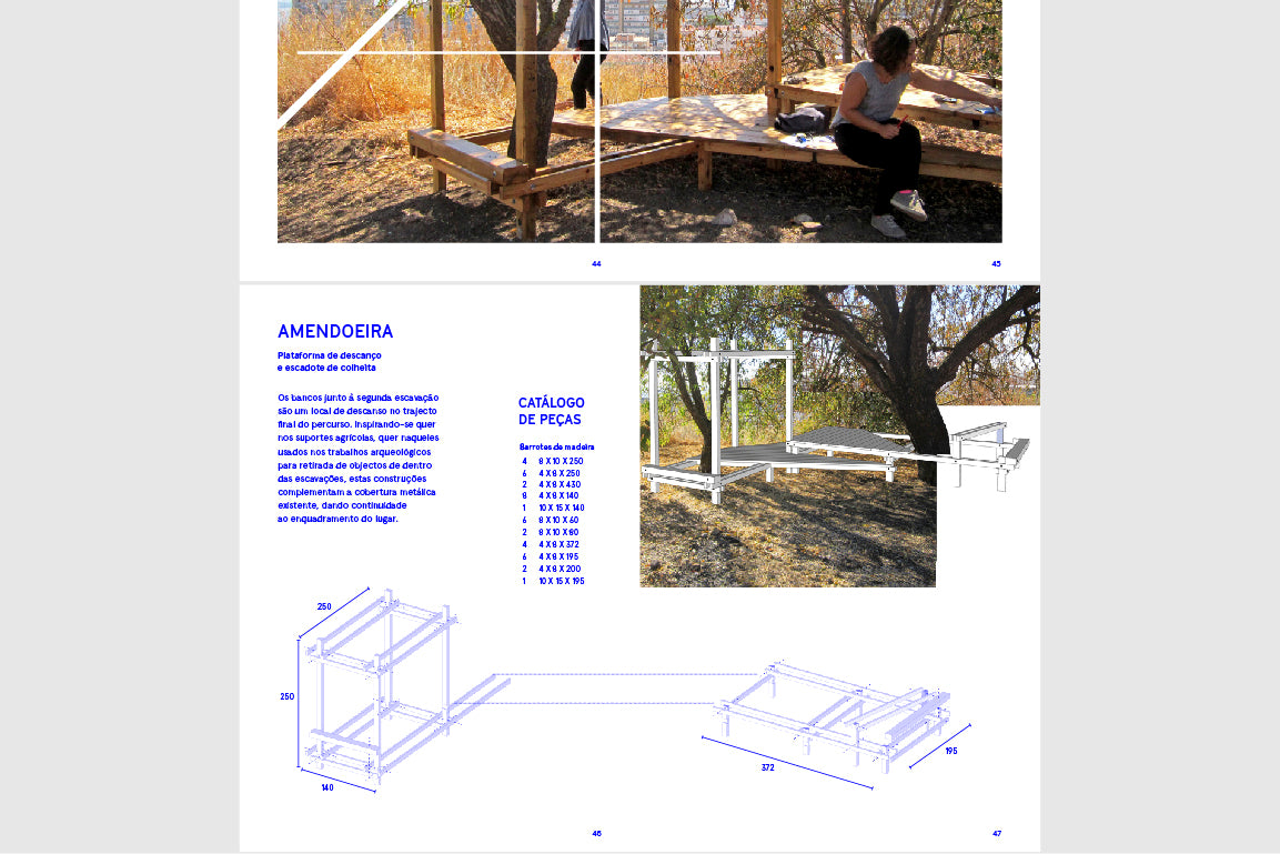 Free E-book - Como desenhar estruturas de apoio para um percurso arqueológico - 5 paragens na Quinta do Almaraz - Download Gratuito | EDIÇÕES URBANAS - Urban Editions - Frame Games Shop