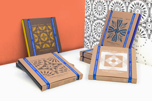 -35% DISCOUNT on the KIT OF 4 — Stencil Set Pattern - Azulejos de Lisboa (DIY) --- Urban Editions - Frame Games
