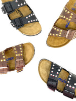 Birkenstock Arizona borchie Racoon Custom