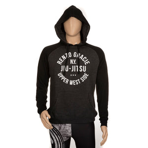 Upper West Side Hoodie - Heather Gray and Black