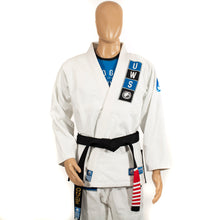 Load image into Gallery viewer, Renzo Gracie Upper West Side Gi - White/Blue