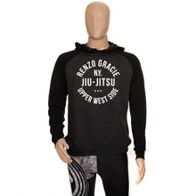 Load image into Gallery viewer, Upper West Side Hoodie - Heather Gray and Black