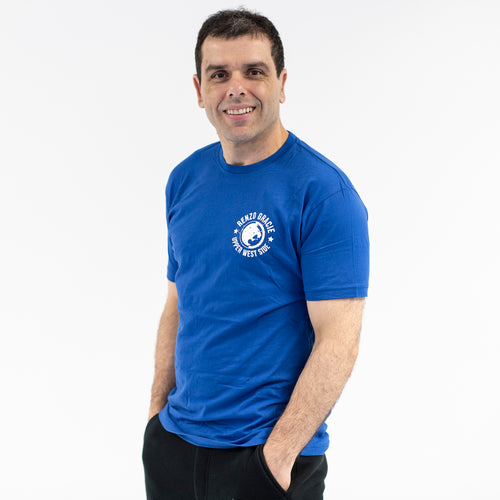 Upper West Side Lion Logo Royal Blue T-Shirt