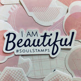 Affirmation mirror decals