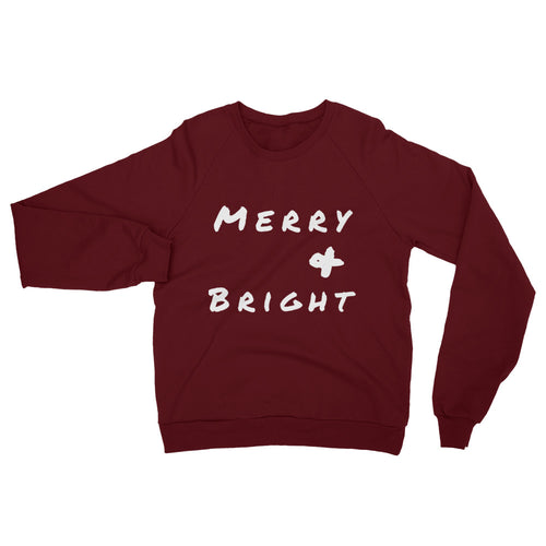 Holiday Sweatshirt -- Merry & Bright