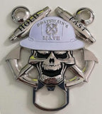Boatswain's Mate Skull Bottle opener coin