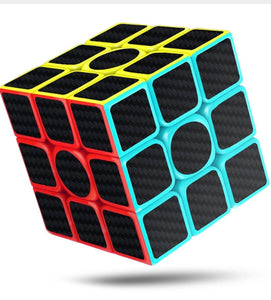 Litchi Speed Cube, 3x3x3 Carbon Sticker Smooth Magic 3D
