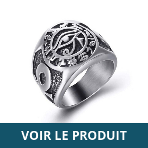 BAGUE EGYPTIENNE HOMME