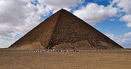pyramide rouge