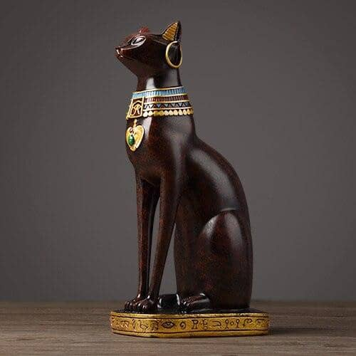 Le Chat <br> Egyptien - Bijoux-egyptiens.fr