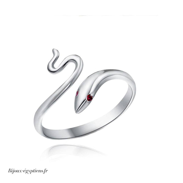 Bague Serpent <br> Ajustable - Bijoux-egyptiens.fr
