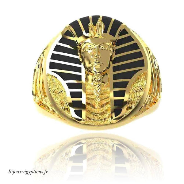 Bague <br> Homme Pharaon - Bijoux-egyptiens.fr