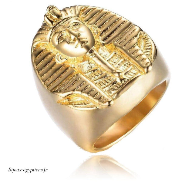 Bague <br> Pharaon Or - Bijoux-egyptiens.fr