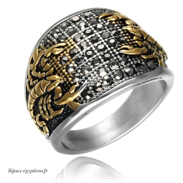Bague <br> Scorpion - Bijoux-egyptiens.fr