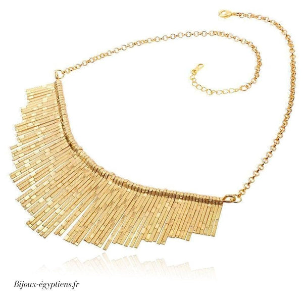 Collier Plastron <br> Or - Bijoux-egyptiens.fr