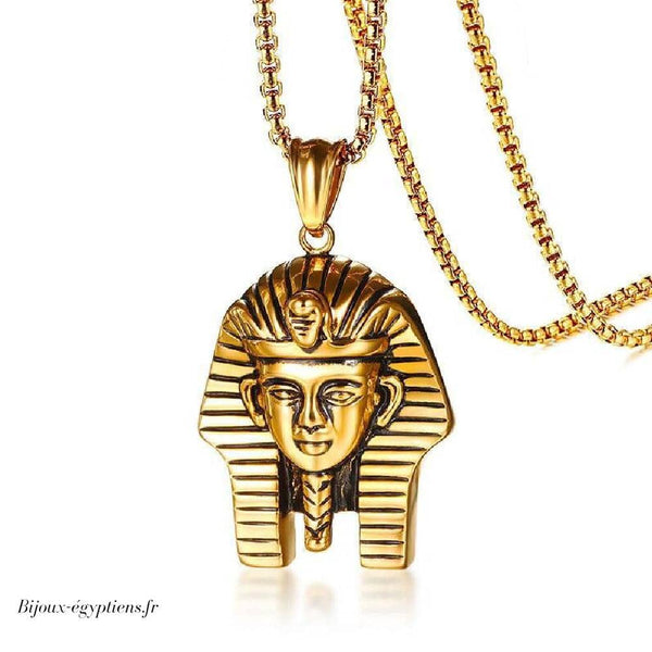 collier homme egyptien