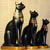 Statue <br> Chat Egyptien - Bijoux-egyptiens.fr