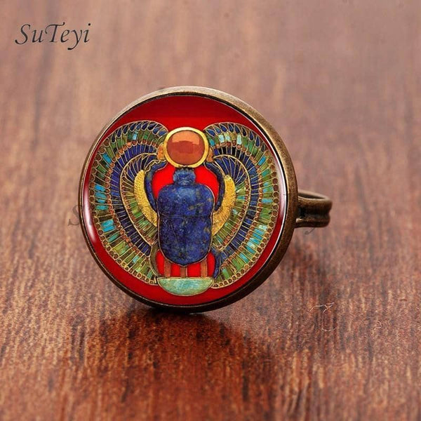 Bague<br>Egypte Antique - Bijoux-egyptiens.fr