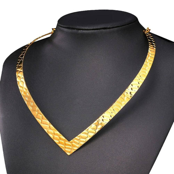 Collier Plastron <br> Tribal - Bijoux-egyptiens.fr