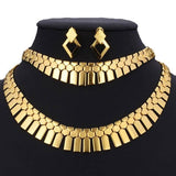 Collier Plastron <br> Style Egyptien - Bijoux-egyptiens.fr