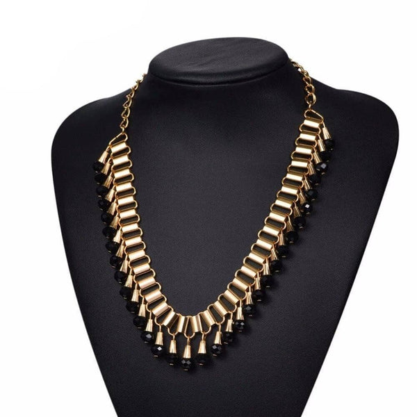 Collier Plastron <br> Long - Bijoux-egyptiens.fr