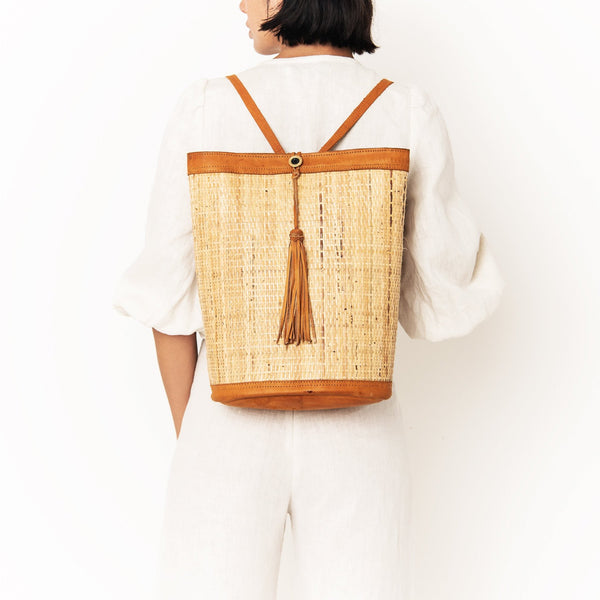 Berlin Rattan Backpack