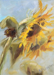 Waking with the Sun Original Oil Painting