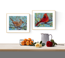 Load image into Gallery viewer, Female Cardinal PRINT