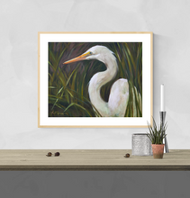 Load image into Gallery viewer, Louisiana Egret PRINT