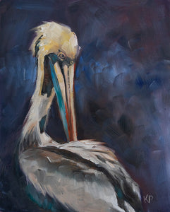 Louisiana Brown Pelican Print