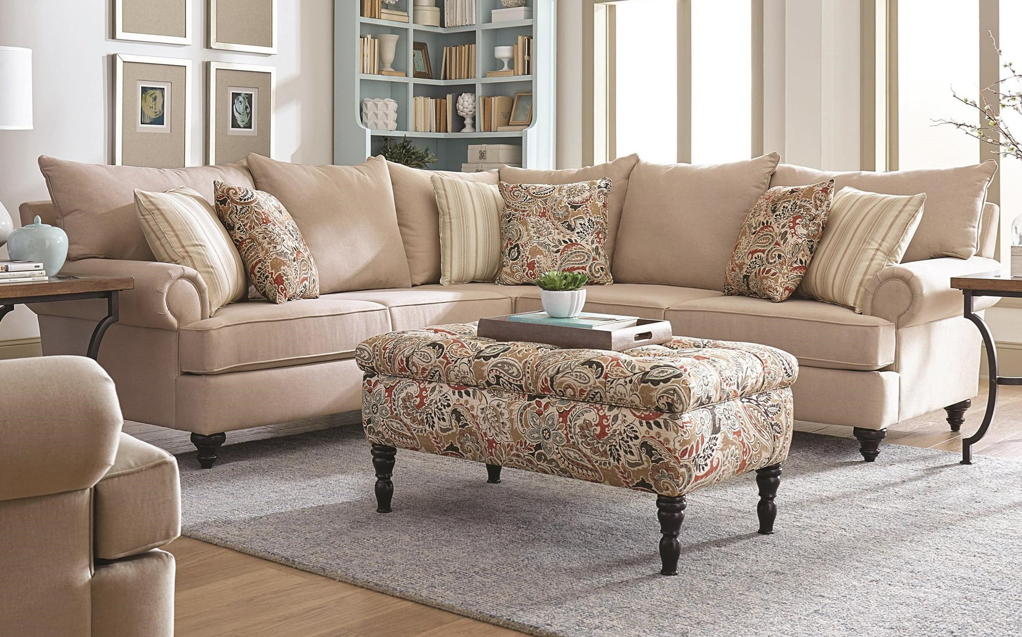 rosalie sectional by england furniture