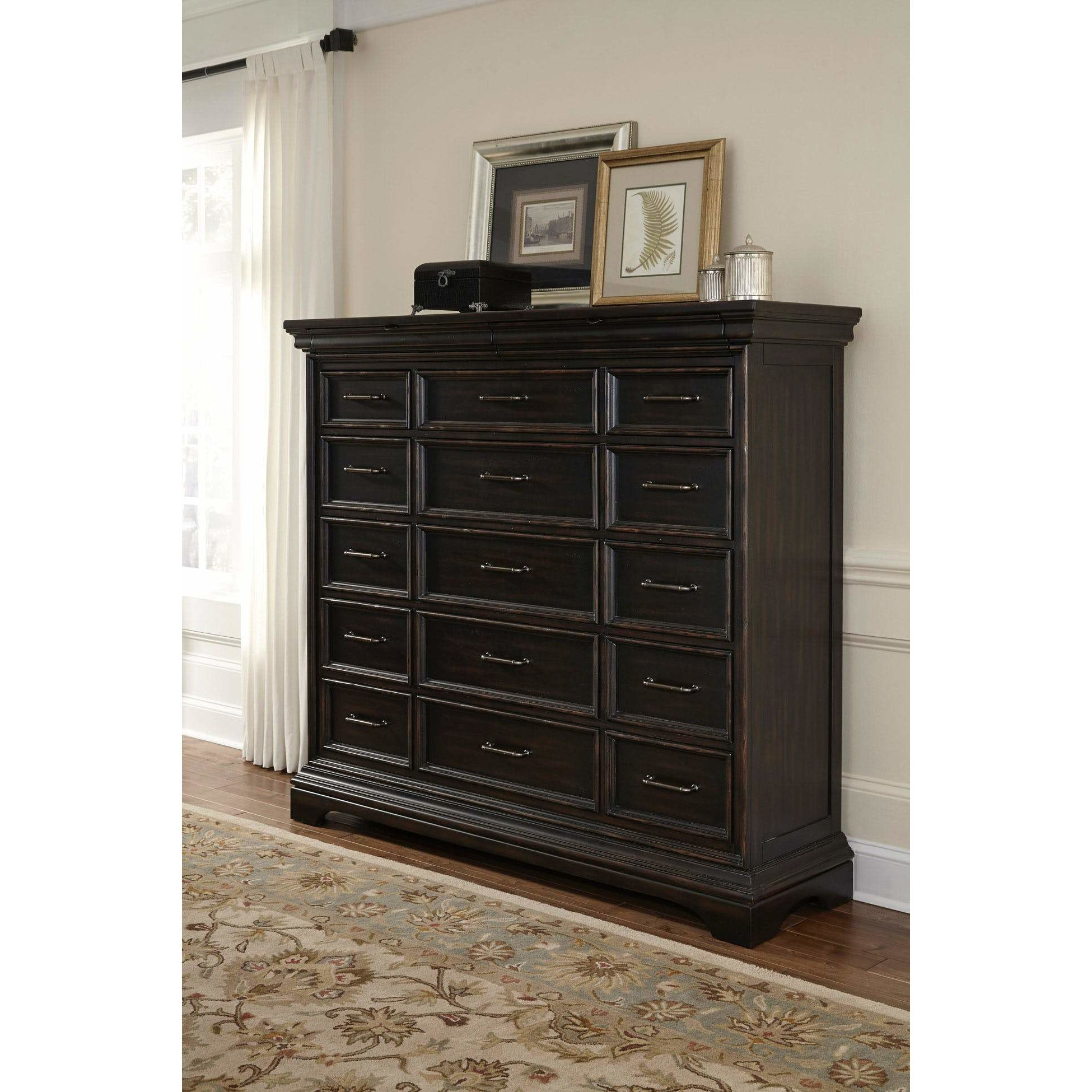 Caldwell 17-Drawer Master Chest