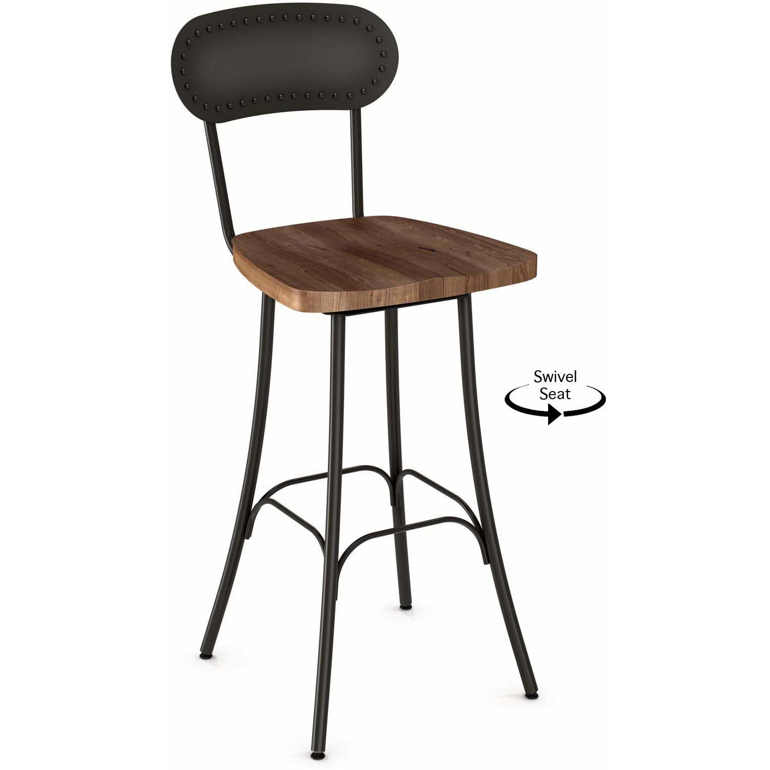Bean Swivel Barstool