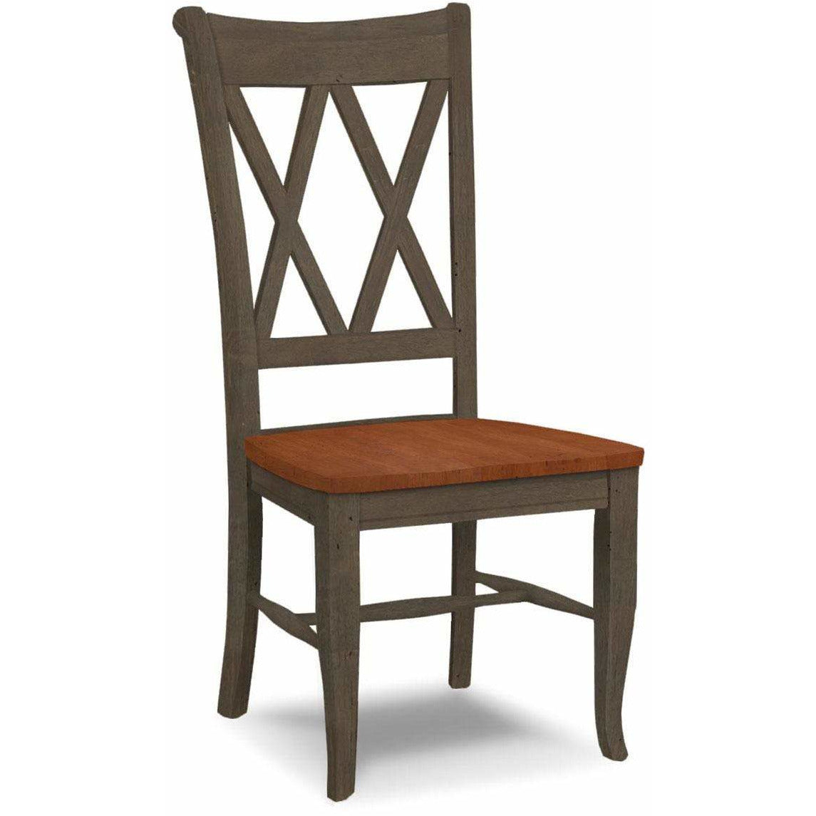 Double X-Back Side Chair